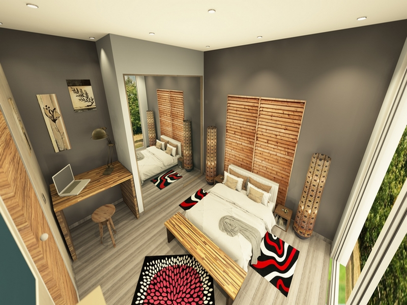 Architecture DInterieur 3D Rehabilitation Dun Garage Tain LHermitage 26