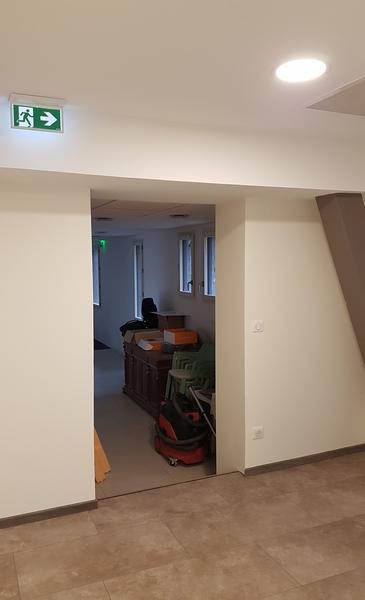 Coordination de travaux-Architecture d'intérieur-Réfection Couloir- Société Fayol Four Panyol - Tain l'Hermitage-Drôme (16)