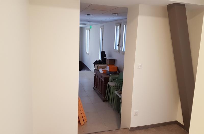 Coordination de travaux-Architecture d'intérieur-Réfection Couloir- Société Fayol Four Panyol - Tain l'Hermitage-Drôme (7)