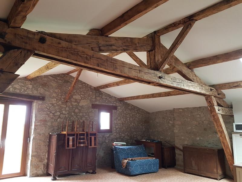 Coordination de travaux-Architecture d'intérieur-Réfection Maison Familiale secondaire- Tournon sur rhône-Ardèche-Séjour-cuisine ouverte (10)