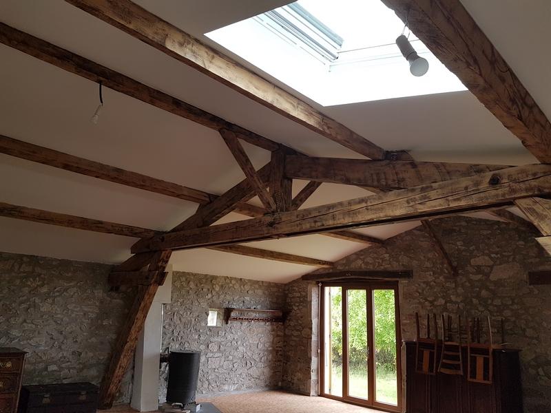 Coordination de travaux-Architecture d'intérieur-Réfection Maison Familiale secondaire- Tournon sur rhône-Ardèche-Séjour-cuisine ouverte (11)