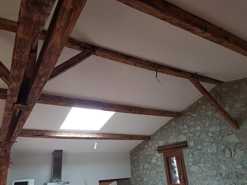 Coordination de travaux-Architecture d'intérieur-Réfection Maison Familiale secondaire- Tournon sur rhône-Ardèche-Séjour-cuisine ouverte (13)