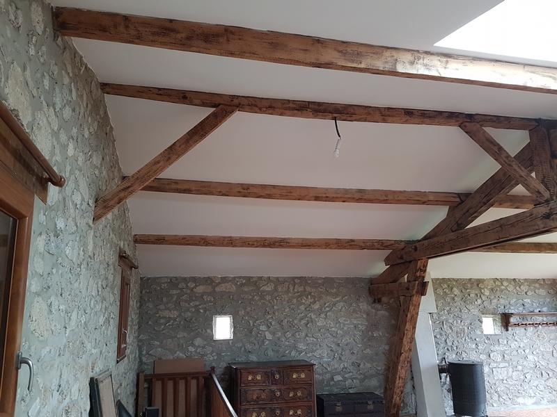 Coordination de travaux-Architecture d'intérieur-Réfection Maison Familiale secondaire- Tournon sur rhône-Ardèche-Séjour-cuisine ouverte (14)