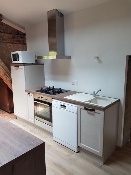 Coordination de travaux-Architecture d'intérieur-Réfection Maison Familiale secondaire- Tournon sur rhône-Ardèche-Séjour-cuisine ouverte (18)