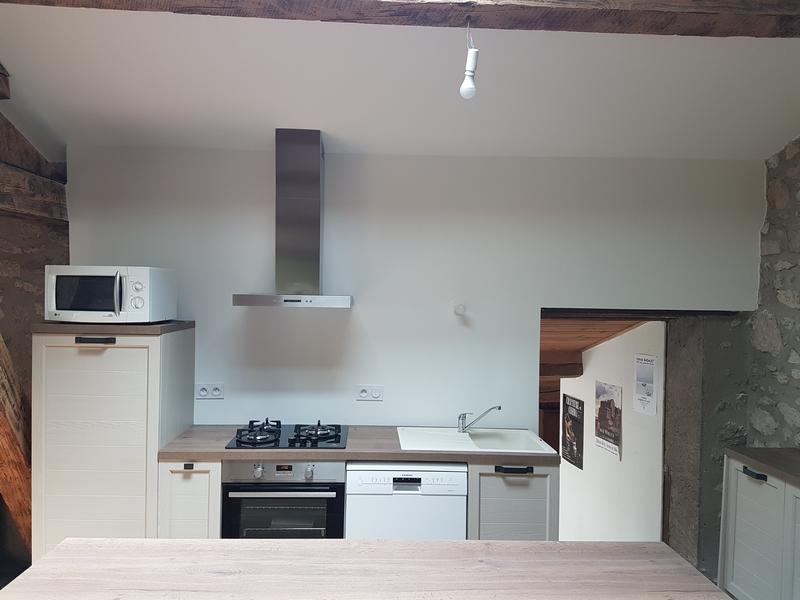 Coordination de travaux-Architecture d'intérieur-Réfection Maison Familiale secondaire- Tournon sur rhône-Ardèche-Séjour-cuisine ouverte (19)