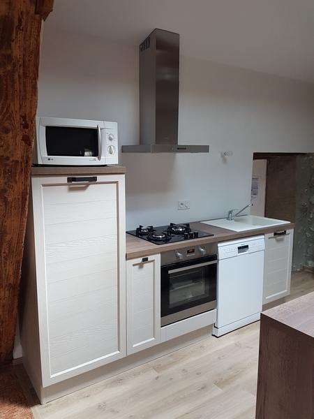 Coordination de travaux-Architecture d'intérieur-Réfection Maison Familiale secondaire- Tournon sur rhône-Ardèche-Séjour-cuisine ouverte (4)