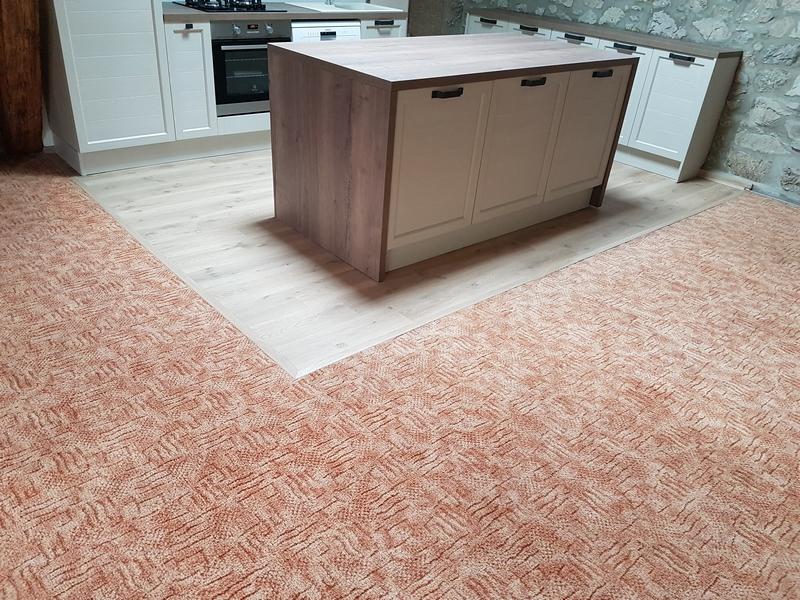 Coordination de travaux-Architecture d'intérieur-Réfection Maison Familiale secondaire- Tournon sur rhône-Ardèche-Séjour-cuisine ouverte (7)