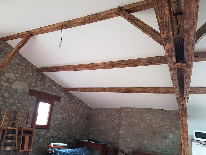 Coordination de travaux-Architecture d'intérieur-Réfection Maison Familiale secondaire- Tournon sur rhône-Ardèche-Séjour-cuisine ouverte (8)