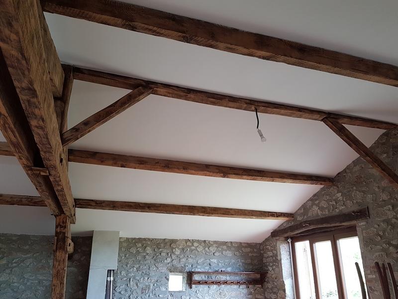Coordination de travaux-Architecture d'intérieur-Réfection Maison Familiale secondaire- Tournon sur rhône-Ardèche-Séjour-cuisine ouverte (9)