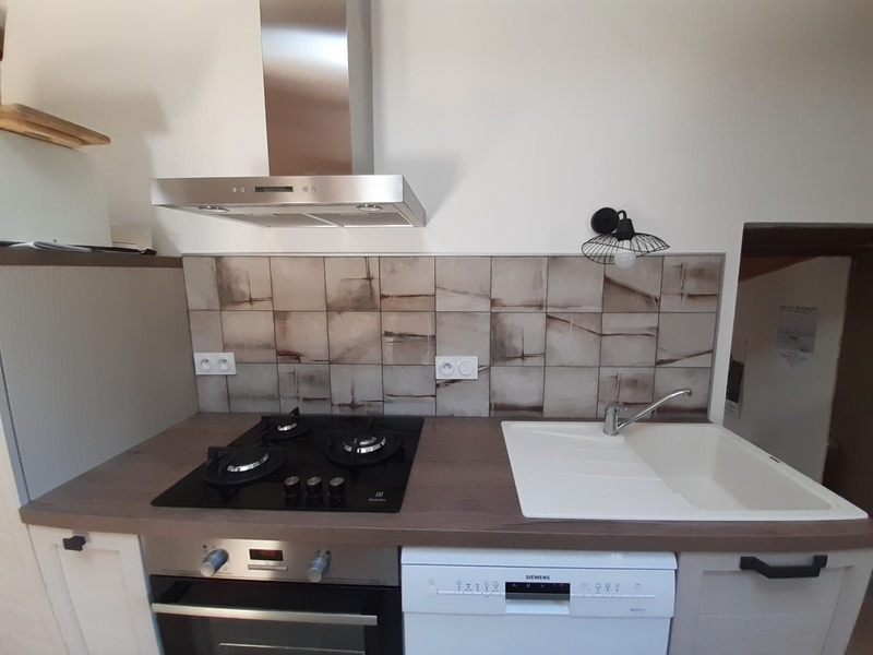 Coordination de travaux-Architecture d'intérieur-Réfection Maison Familiale secondaire- Tournon sur rhône-Ardèche-Crédence-cuisine ouverte